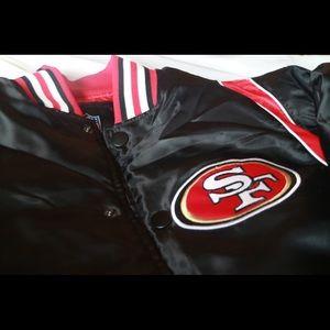 super cheap d6043 826f8 San Francisco 49ers Men's Jacket NWT